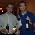 The winners of second place in the table quiz.