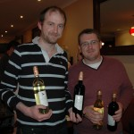 The very knowledgeable winners of the quiz!