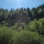 The beautiful Spearfish Canyon, where the lodge was located.