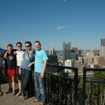 COA and downtown Pittsburgh.