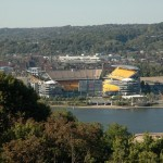 The Pittsburgh Steelers stadium - Heinz Field.