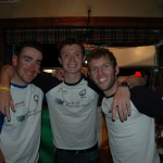 Eoin, Mark and Will at the Map Room.
